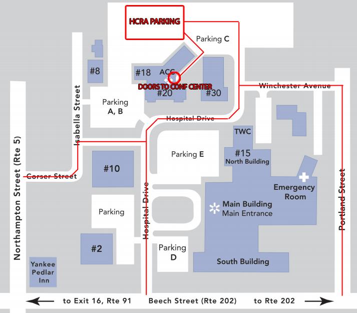 HCRA Meeting Location - Holyoke Hospital