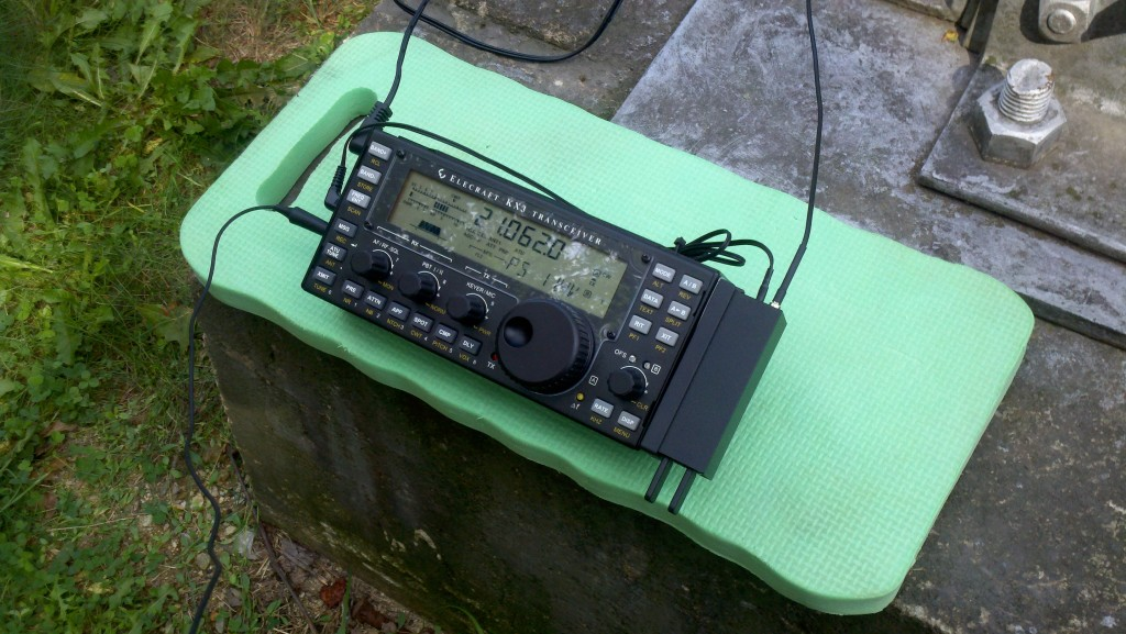 KX3 calling CQ on 15 meters