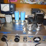 Jon KA1TDQ's homebrew 30 meter transmitter. WB1DBY photograph