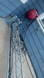 cables rough in